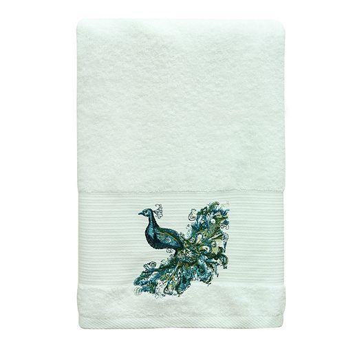Bacova Peacock Bath Towel