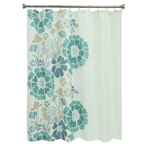 Bacova Peyton Floral Shower Curtain