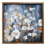 New View Twilight Meadow Framed Wall Art