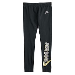 Girls 7-16 Nike 'Just Do It' Foil Print Leggings
