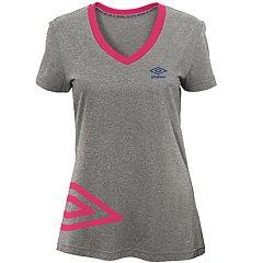 Women's Umbro Flank Short Sleeve Top