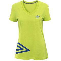 Women's Umbro Flank Short Sleeve Top