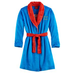 Boys DC Comics Clark Kent Superman Robe