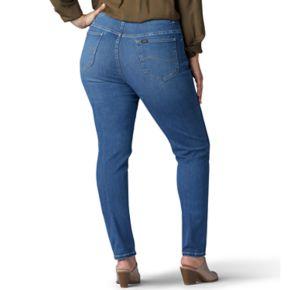 Plus Size Lee Sculpting Slim Leg Pull-On Jeans