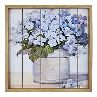New View Lilac Bushel Framed Wall Art