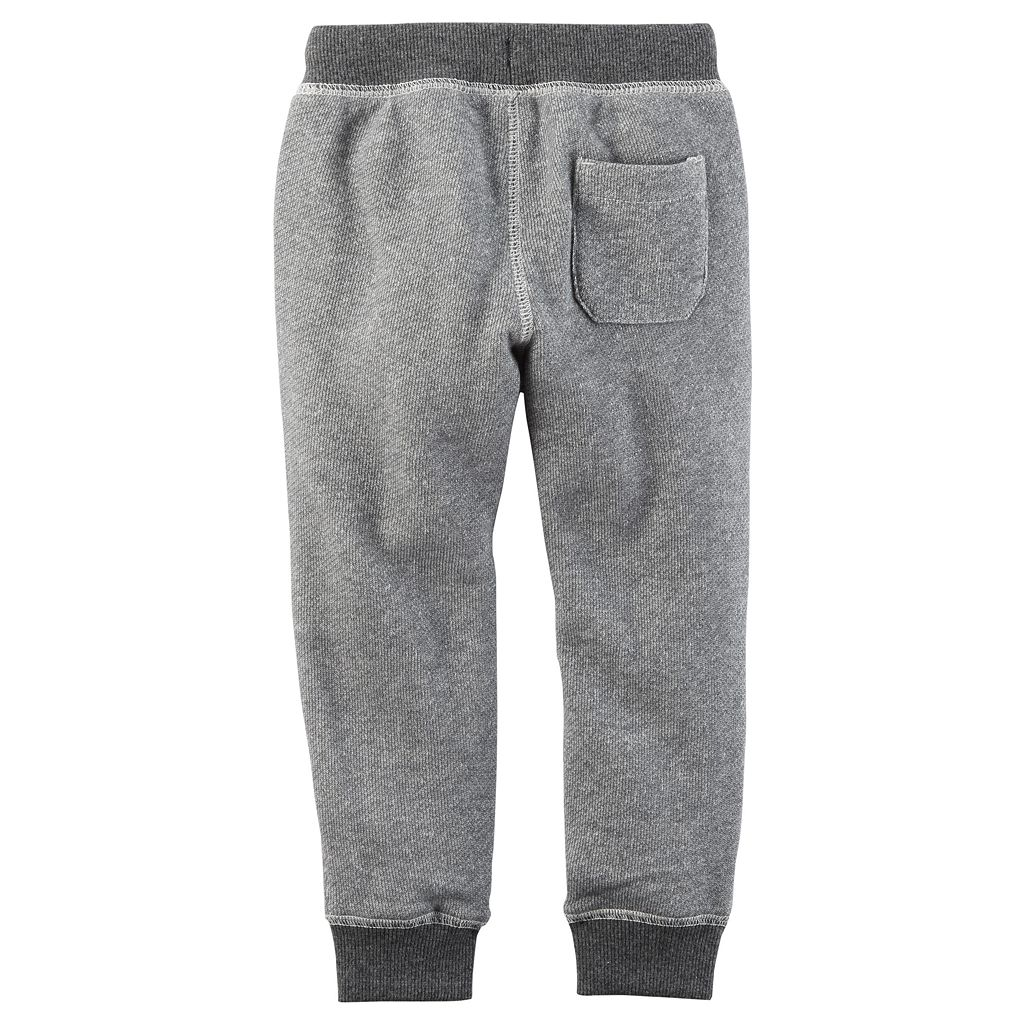 Boys 4-8 Carter's Marled Knit Jogger Pants