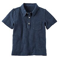 Boys 4-8 Carter's Slubbed Polo
