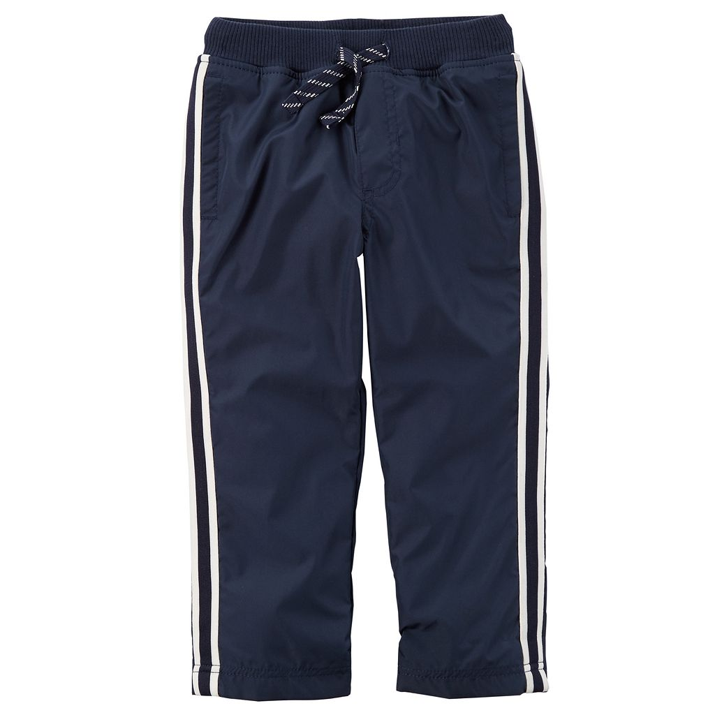Boys 4-8 Carter's Striped Woven Athletic Pants