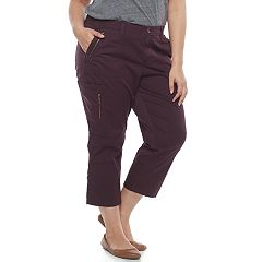 Plus Size SONOMA Goods for Life™ Utility Convertible Capris