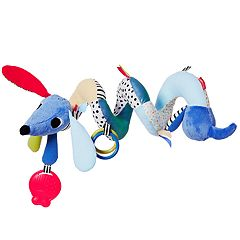 Skip Hop Vibrant Village Dog Musical Spiral Toy
