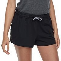 Juniors' SO® Woven Waistband Shorts