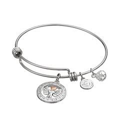 love this life 'Angels Above' Charm Bangle Bracelet
