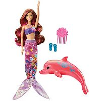 Barbie® Dolphin Magic Transforming Mermaid Barbie Doll