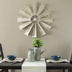 Stratton Home Decor Farmhouse Pinwheel Wall Decor