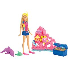 Barbie® Dolphin Magic Ocean Treasure Playset
