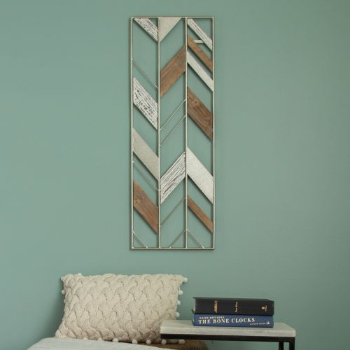 Stratton Home Decor Geometric Metal &Amp; Wood Wall Decor by Kohl's