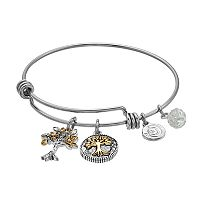 love this life Family Tree Bangle Bracelet