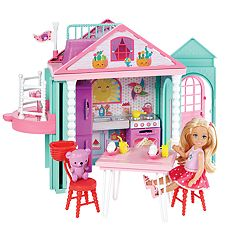 Barbie® Club Chelsea Playhouse Doll & Playset
