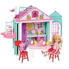 Barbie®Club Chelsea Playhouse Doll & Playset