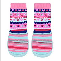 Baby Girl Jumping Beans® Fairisle Slipper Socks