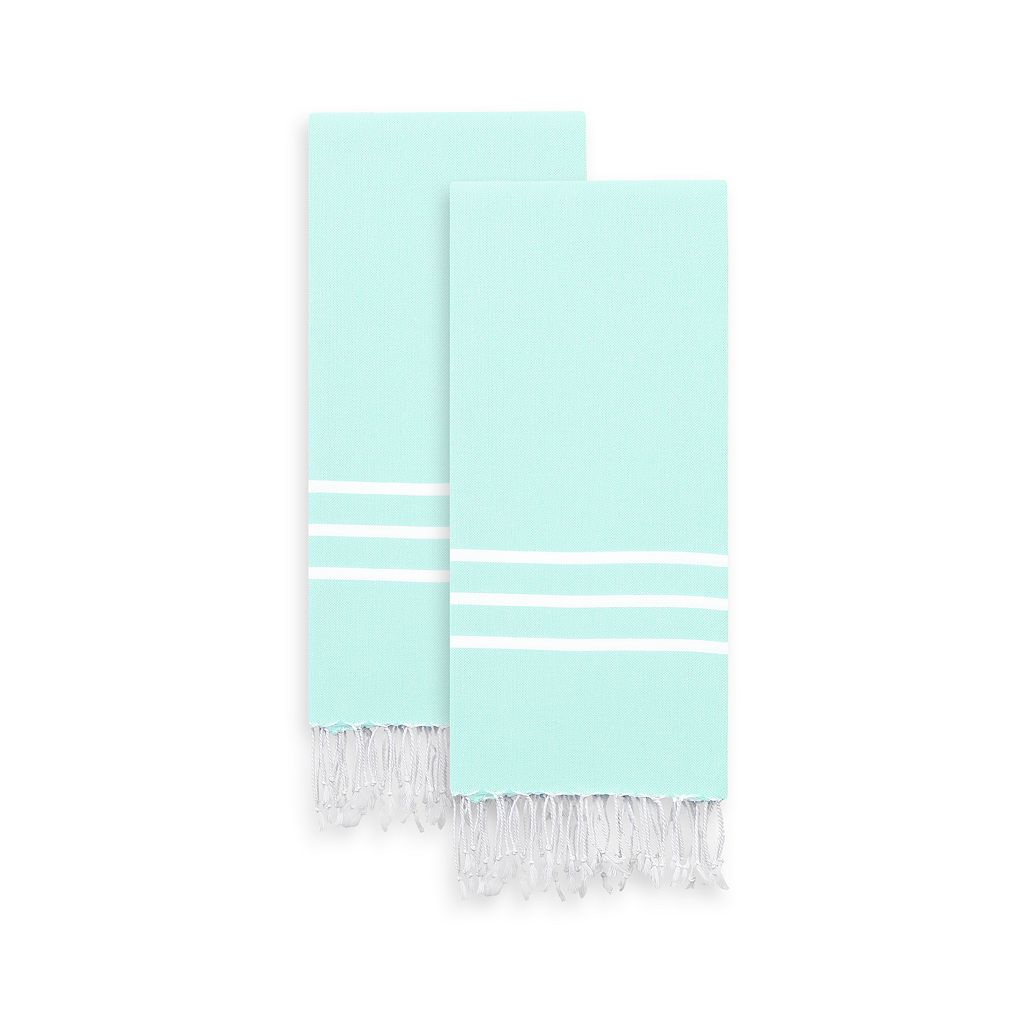 Linum Home Textiles 2-pack Alara Pestemal Color Hand Towels