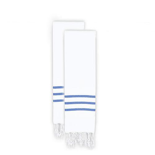 Linum Home Textiles 2-pack Alara Pestemal Hand Towels