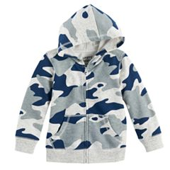 Baby Boy Jumping Beans® Camouflaged Zip Hoodie