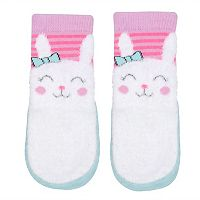Baby Girl Jumping Beans® Bunny Slipper Socks