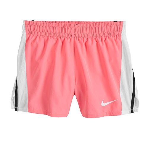 Girls 7-16 Nike Dri-FIT Black Running Shorts