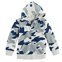 Toddler Boy Jumping Beans® Camouflaged Zip Hoodie