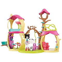 Enchantimals Prue Panda & Nari Playhouse Panda Set