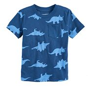 Toddler Boy Jumping Beans® Dinosaur Pocket Tee