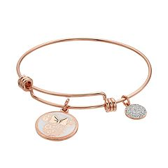 Disney's Minnie Mouse Crystal Bangle Bracelet