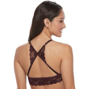 It's Just A Kiss Bras: Strappy Lace Bralette BR-28188A