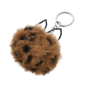 Mudd® Cat Ears Pom Pom Key Chain