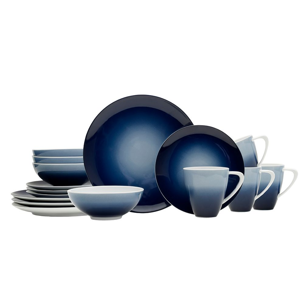 Naya Blue 16-pc. Dinnerware Set
