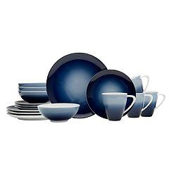 Mikasa Naya Blue 16 pc Dinnerware Set