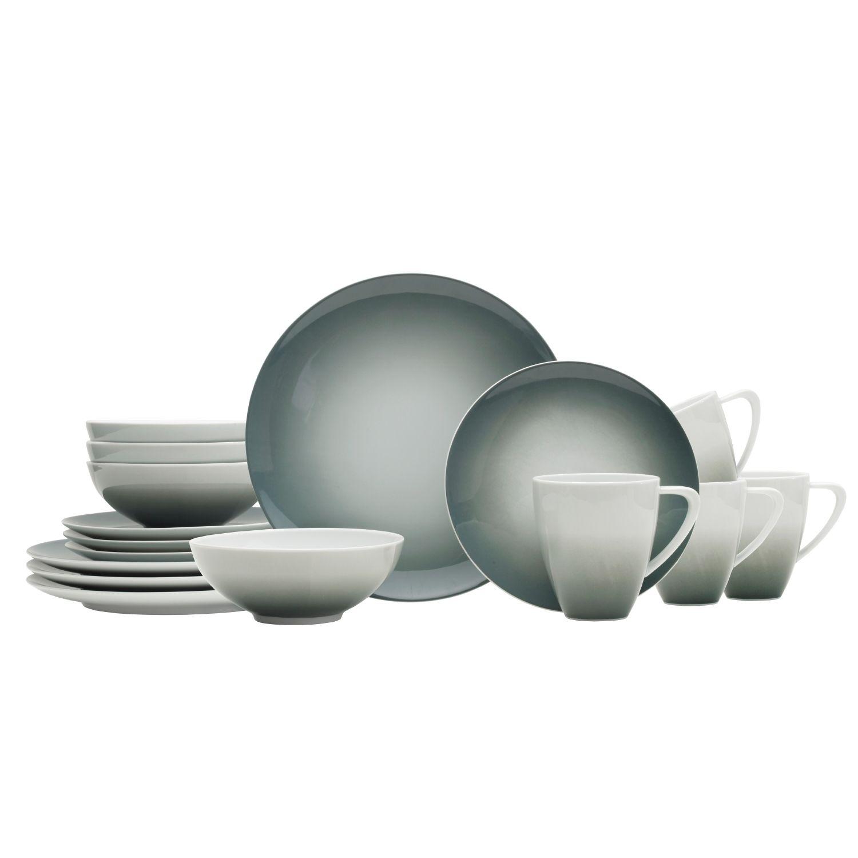 sc 1 st  Kohlu0027s & Mikasa Naya Gray 16-pc. Dinnerware Set