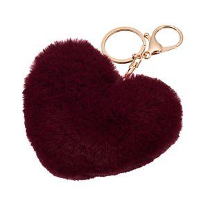 SO Heart Puff Key Chain