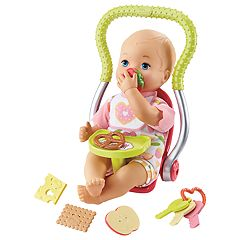 Little Mommy Happy Snacktime Baby Doll