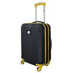 Pittsburgh Steelers 21-Inch Wheeled Carry-On Luggage