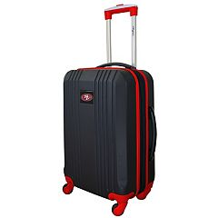 San Francisco 49ers 21-Inch Wheeled Carry-On Luggage