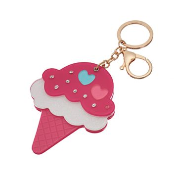 Mudd® Ice Cream Cone Key Chain