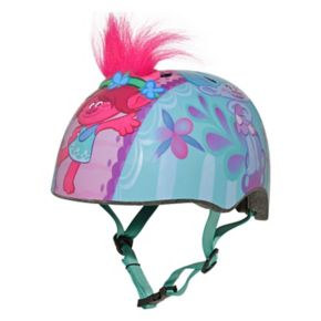 DreamWorks Trolls Poppy Youth Faux-Fur Hair Bike Helmet by Bell Sports