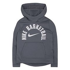 Boys 4-7 Nike Basketball Logo Fleece Hoodie