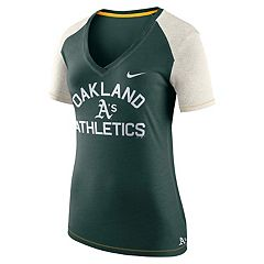 Women's Nike Oakland Athletics Fan Top Tee