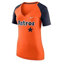 Women's Nike Houston Astros Fan Top Tee