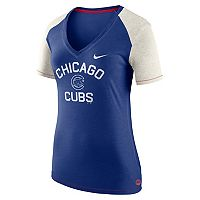 Women's Nike Chicago Cubs Fan Top Tee