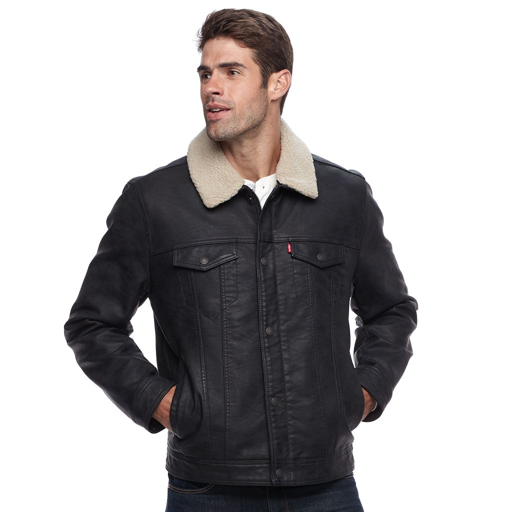 Men's Levi's Sherpa Trucker Jacket