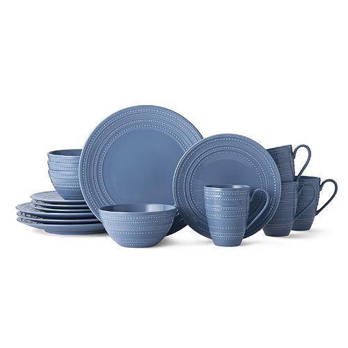 Mikasa Vella Blue 16-pc. Dinnerware Set